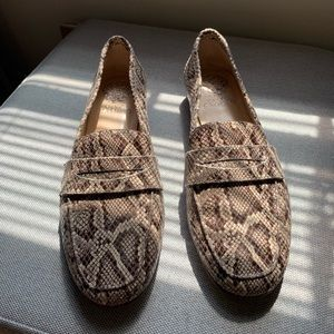 Snake Vince Camuto Loafers